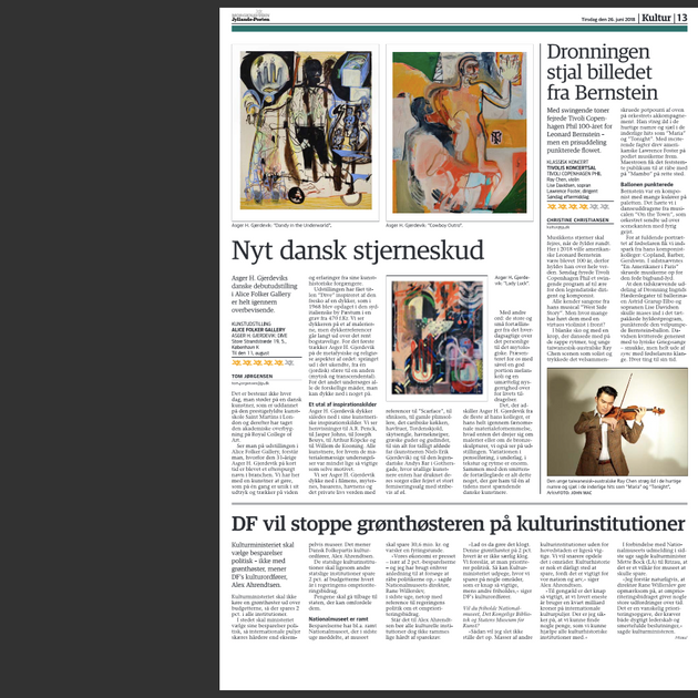 Jyllands Posten 5***** May 2018