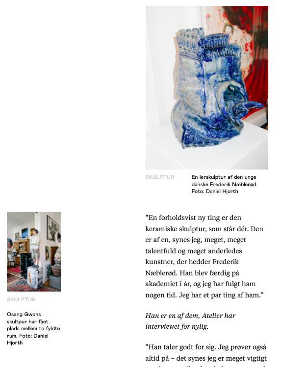 Børsen Atelier 10 June 2019