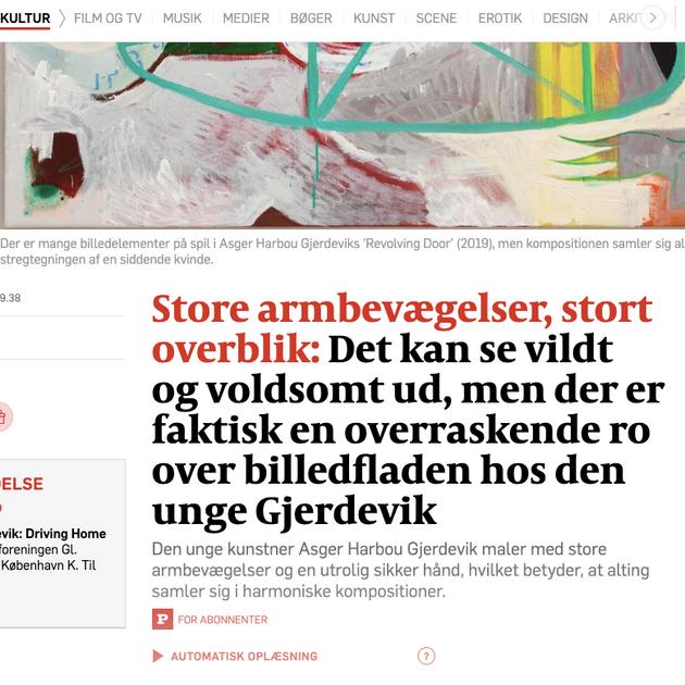 Politiken 5***** June 2019