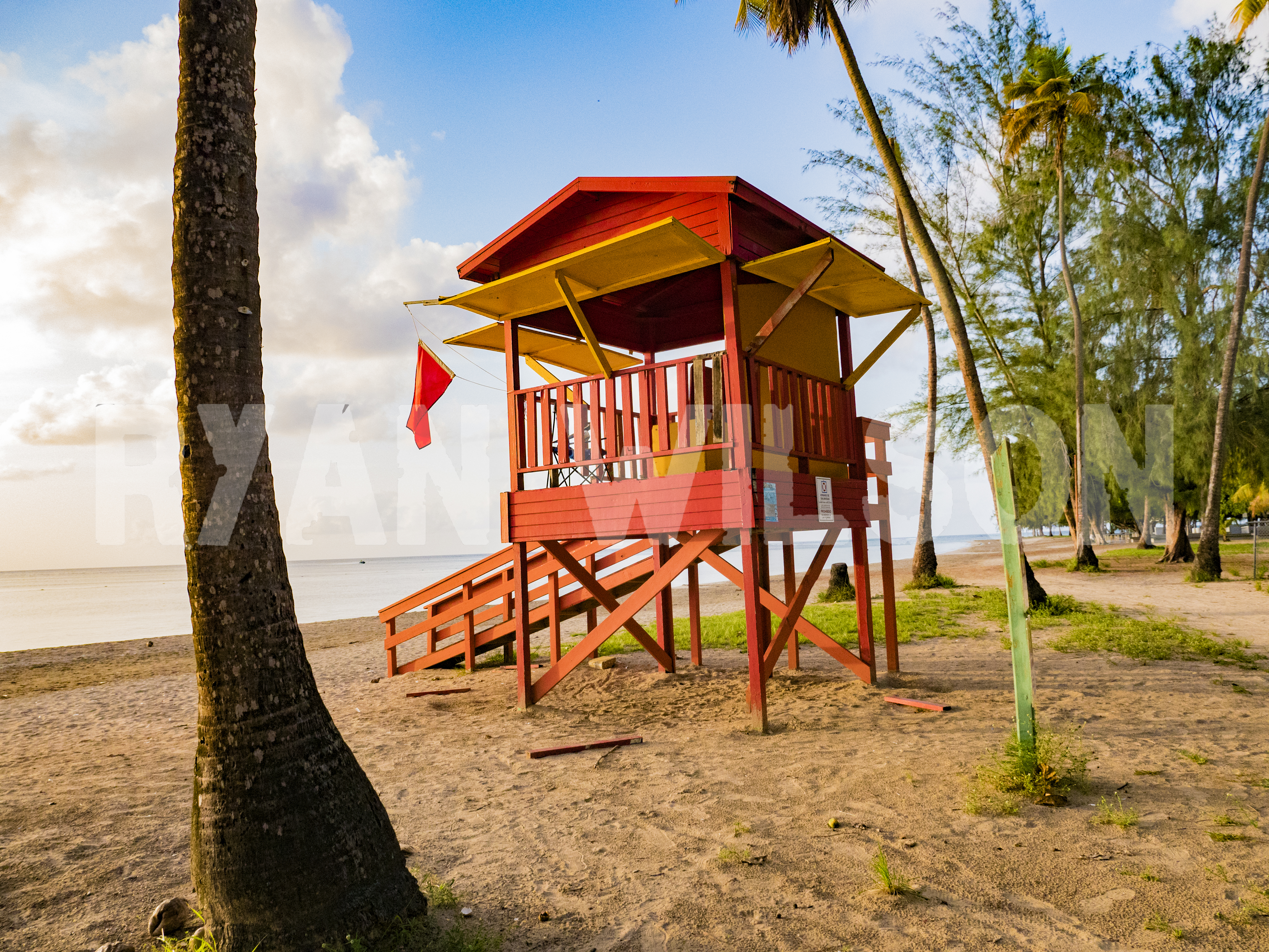 Hut on Puerto Rican Beach