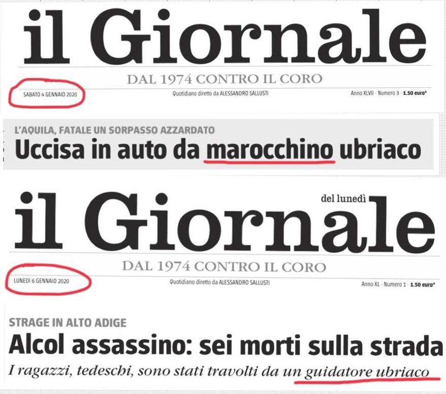Primo nemico dell'integrazione: il giornalismo italiano