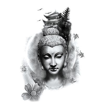 hindi china temp tattoo | הודי סיני אסייתי