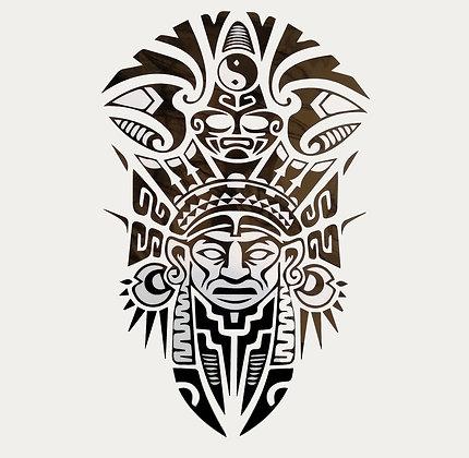 Tribal indian tattoo |טרייבל אינדיאני