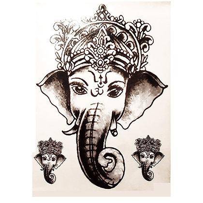 elephant temporary tattoo |פיל