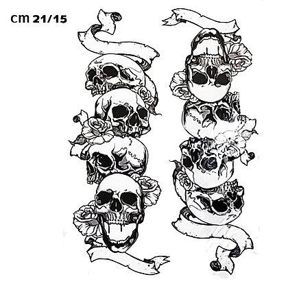 skull  chain/ גולגולת חיה