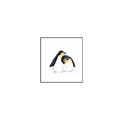 Penguin cute Temp tattoo |  קעקוע זמני פינגווין