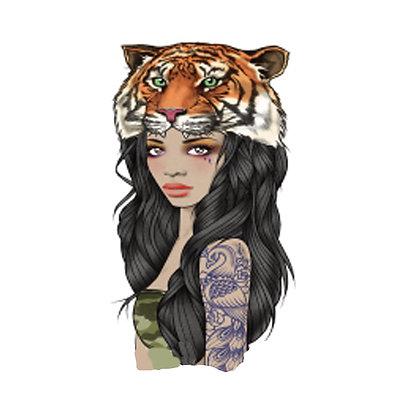 tiger woman / אישה נמר