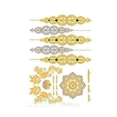 henna2 tattoo |קעקועי זהב דמוי חינה
