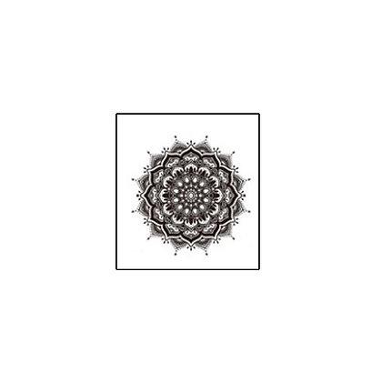 mandala2 temp tattoo | קעקוע זמני מנדלה