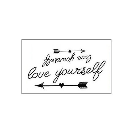 love yourself tattoo /תאהב את עצמך