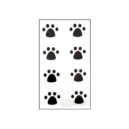 steps mini tattoo/ צעדים