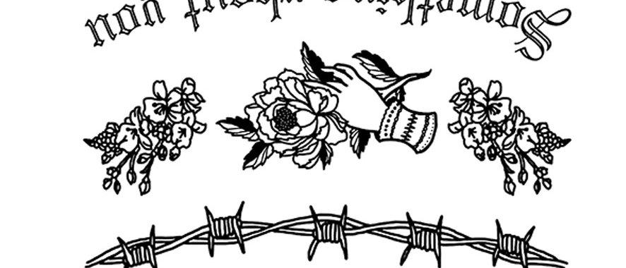 old school2 temporary tattoo | קעקוע זמני אולד סקול2 אסירים