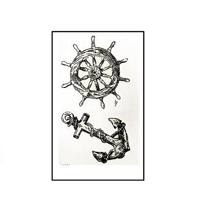 anchor tattoo / עוגן