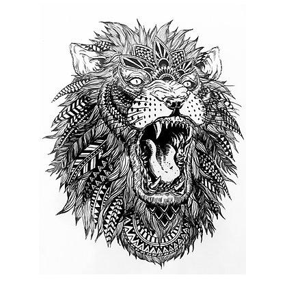 lion / אריה