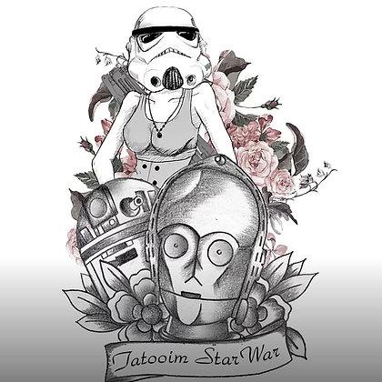 Star wars tattoos   קעקועים מלחמת הכוכבים