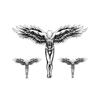 3 Angels temp tattoo | מלאכים