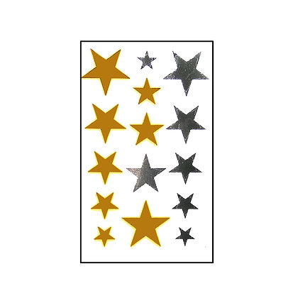 gold & silver stars /כוכבי כסף וזהב