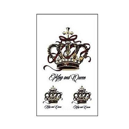 crowns small tattoo | קעקוע קטן כתרים