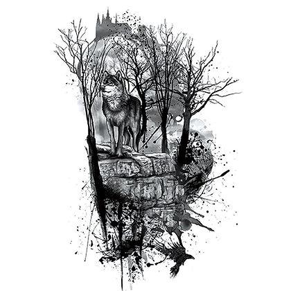 wolf in wood | זאב ביער