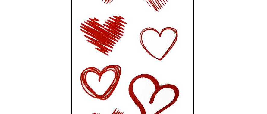 red heart / לב אדום