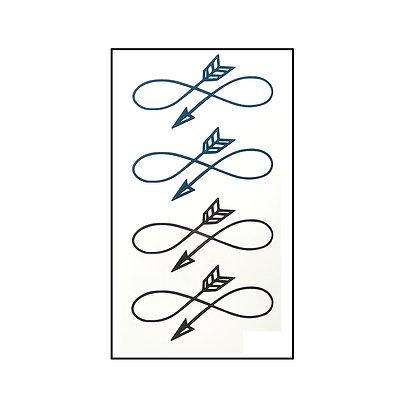 Arrows small tattoo/ חיצים אינסוף