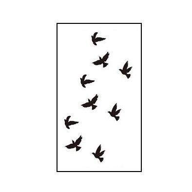 birds small tattoo | ציפורים