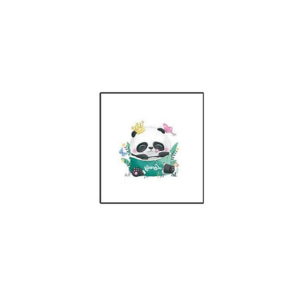 cute panda girl Temp tattoo | קעקוע זמני פנדה