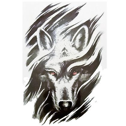 wolf tattoo / זאב