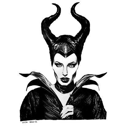 Maleficent temp tattoo | קעקועים זמניים של מליפיסנט