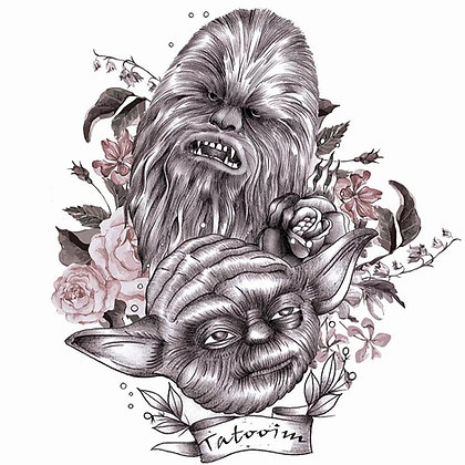 Star wars tattoos2 | מלחמת הכוכבים קעקועים