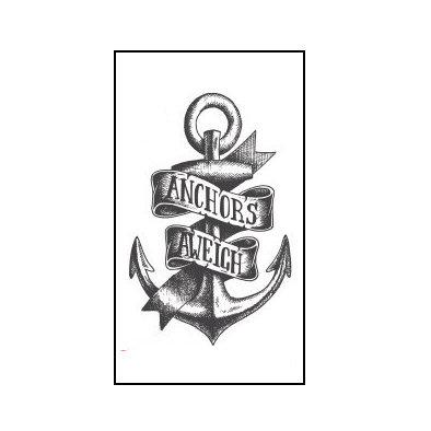 anchor small tattoo | עוגן