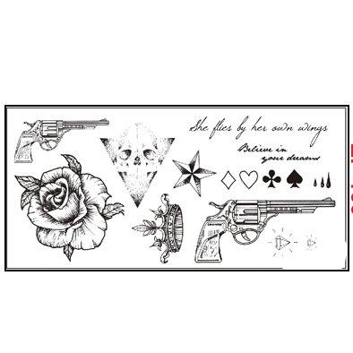 mix guns flowers   דף מיקס אקדח פרחים