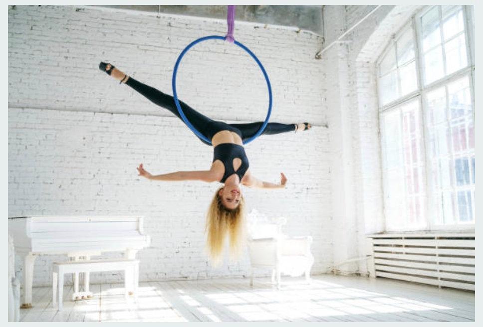Thursdays Adults Beginner Aerial Hoop