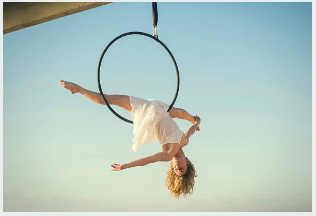 Mondays Adults Beginner Aerial Hoop