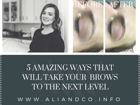 Take Your Brows to The Next Level!