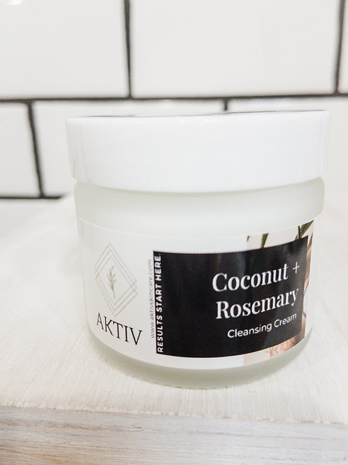 Coconut + Rosemary Cleansing Cream