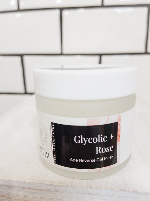 Glycolic + Rose Gel Mask