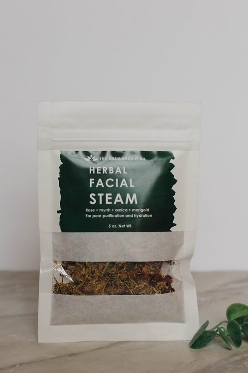 The Balm Shop & Co Herbal Facial Steam