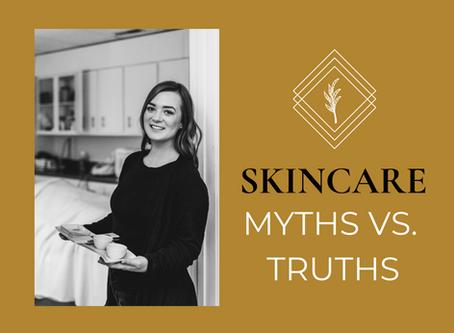 7 Skincare Myths vs. Truths