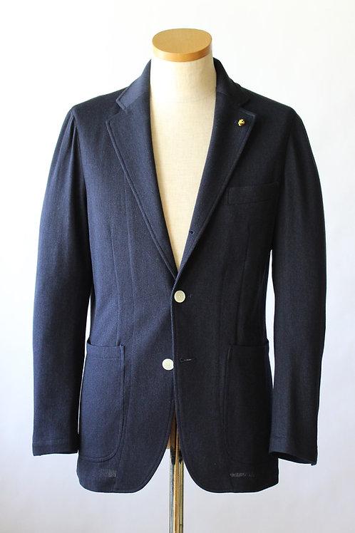 ウールシルク ニットジャケット