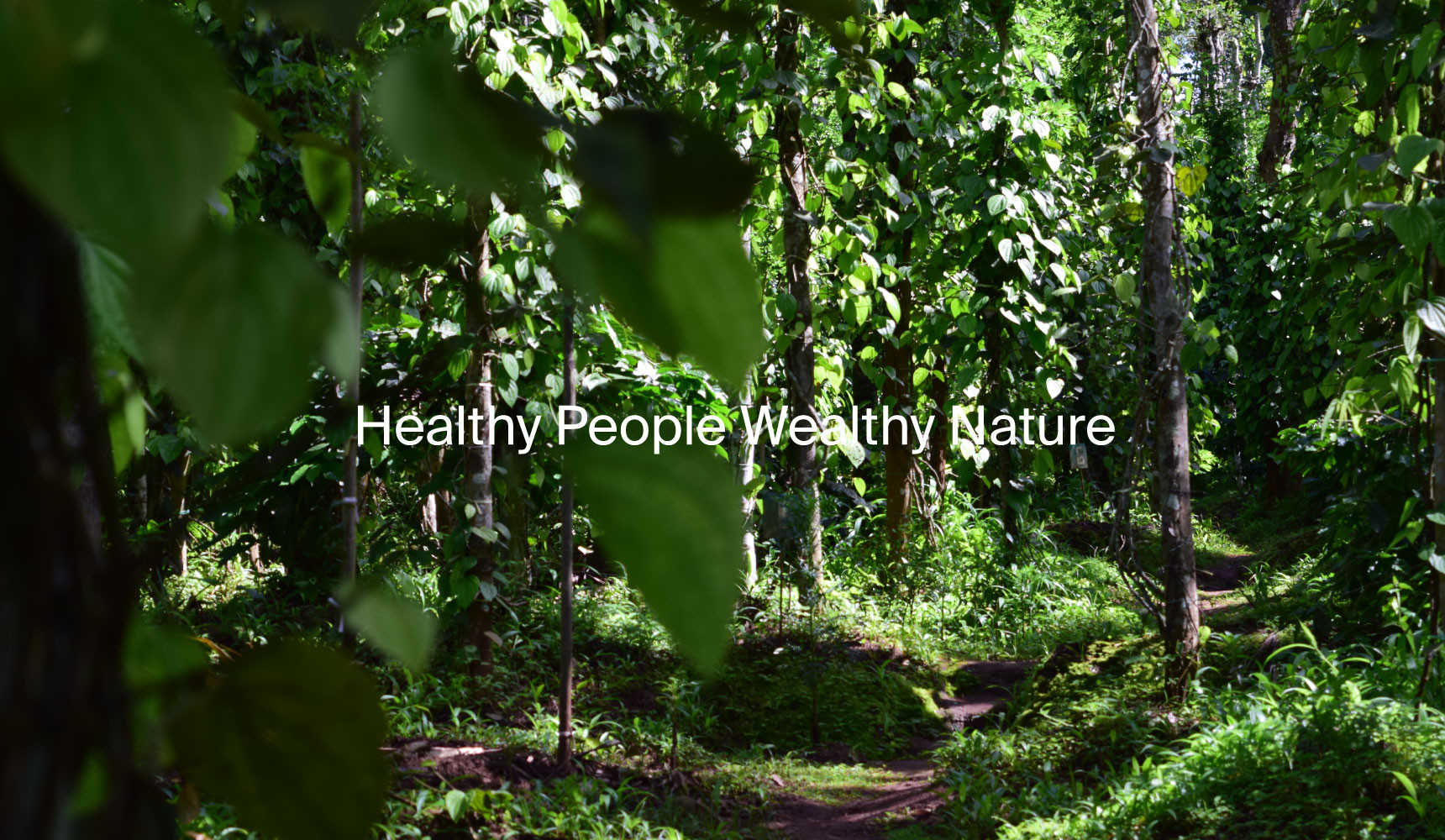 Healthy People Wealthy Nature