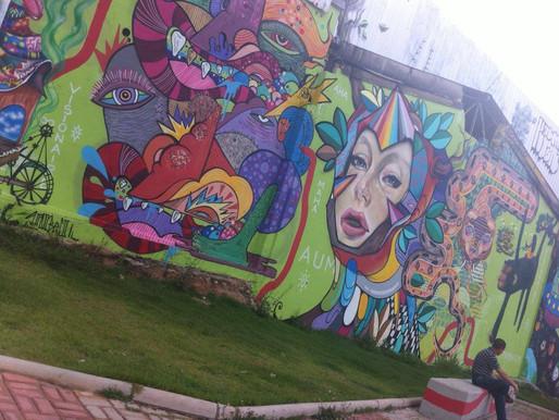 O MUNDO ENCANTADO DO GRAFITE