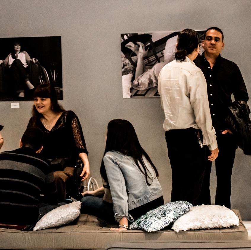 Lançamento da Exposição Retratos Inclusivos no DiamondMall.