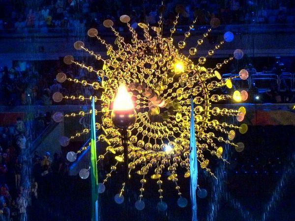 Cerimônia de Abertura das Paralimpíadas Rio 2016.  Imagens retiradas da internet