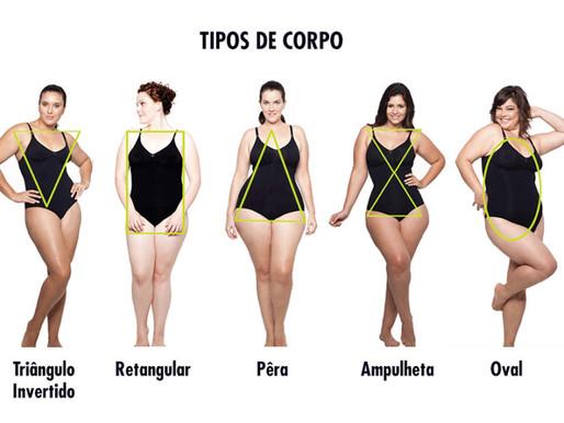 CORPOS FEMININOS, VOCÊ SABE QUAL O SEU TIPO?