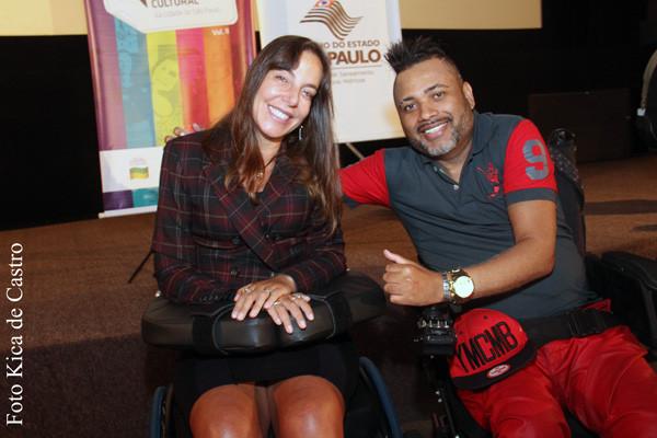 Mara Gabrilli e Adriano Levino