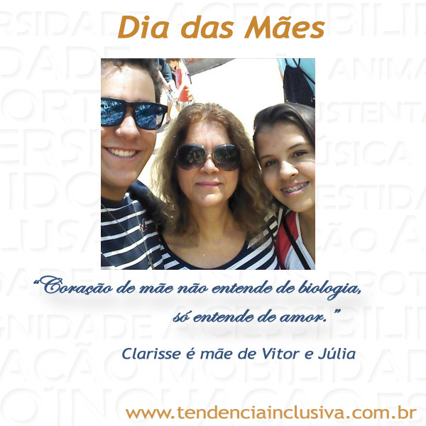 Clarisse, Vitor e Júlia
