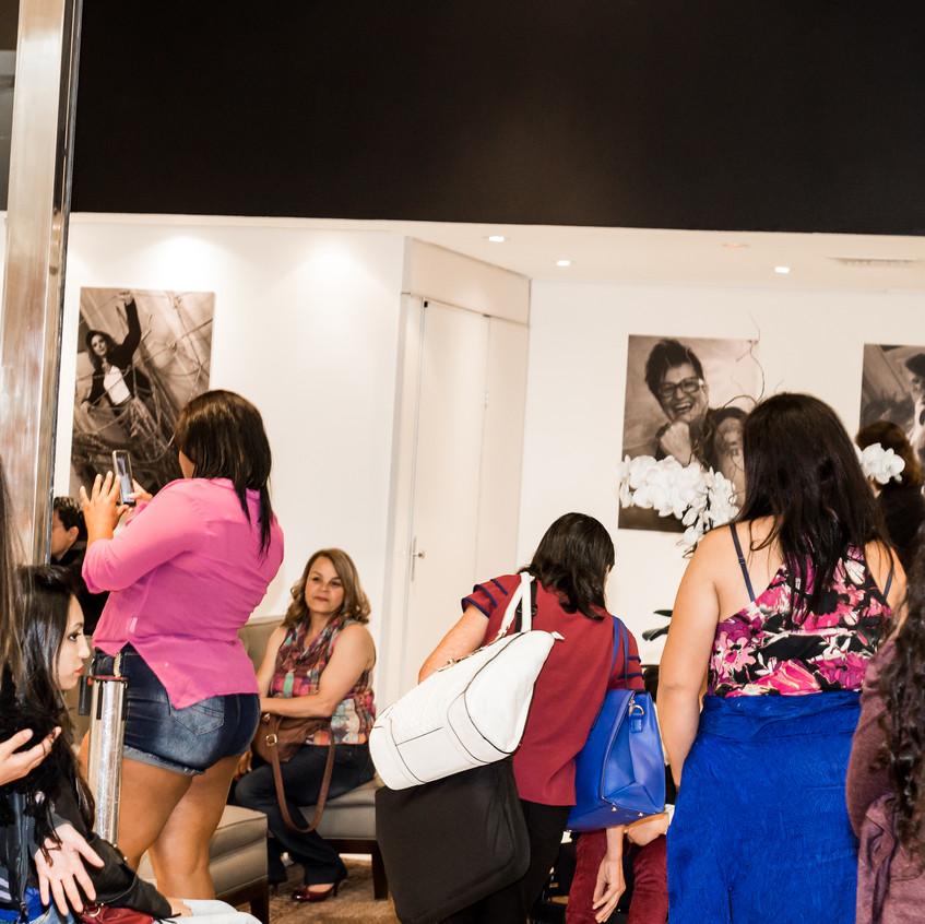 Lançamento da Exposição Retratos Inclusivos no DiamondMall