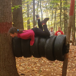Tire hurdles