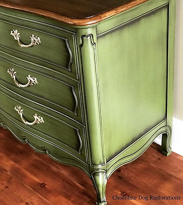 Powder glaze furniture